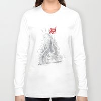 yeti Long Sleeve T-shirts featuring Yeti by Sergi Ferrando