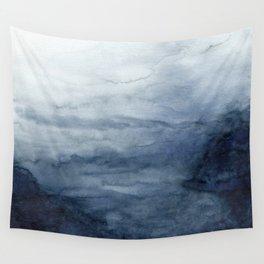 Indigo Abstract Painting   No.2 Wall Tapestry