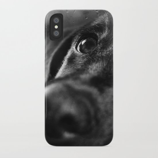 dog char iPhone Case