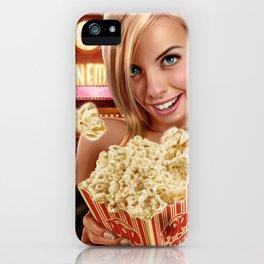 CINEMA POP iPhone Case