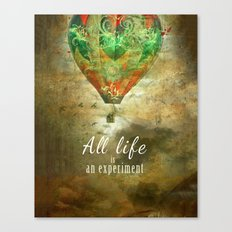 All life...  [ N°2 ] Canvas Print
