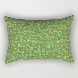 Patchouli Batik Rectangular Pillow