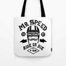 Mr. Speed Tote Bag