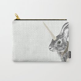 uni-hare All animals are magical Carry-All Pouch