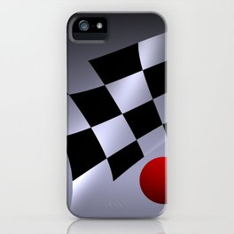 bicubic waves -3- iPhone Case