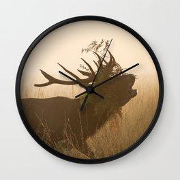 Richmond Park - 15, October 2015 Wall Clock