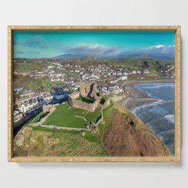 Criccieth Castle Serving Tray