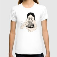 ramen T-shirts featuring I Heart Ramen by Amy Consolo