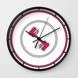 The amazing Tripping-Dude-Ladder Wall Clock