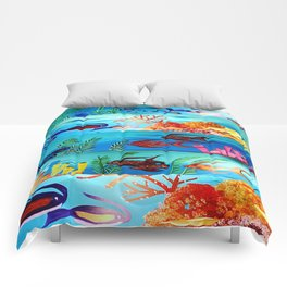 Beautiful Sea Life Comforters