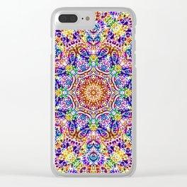 Mehndi Ethnic Style G459 Clear iPhone Case