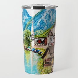 Hallstatt, Austria Travel Mug