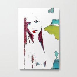 Woman N36 Metal Print