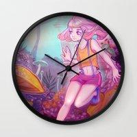 cyarin Wall Clocks featuring Child. by Cyarin