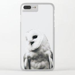Owl - Scandinavian Clear iPhone Case
