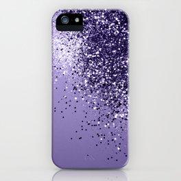 ULTRA VIOLET Glitter Dream #1 #shiny #decor #art #society6 iPhone Case