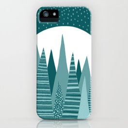 Moonlight Forest iPhone Case