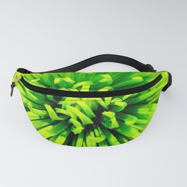 Lime Spider Fanny Pack