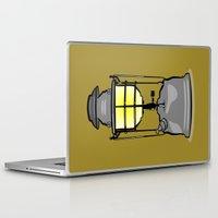 lantern Laptop & iPad Skins featuring Lantern by mailboxdisco