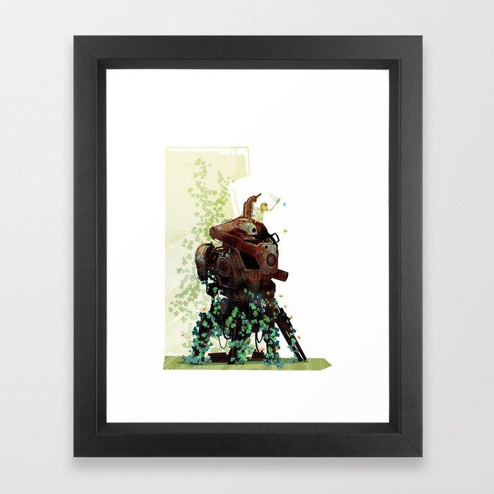 The Blue One Framed Art Print