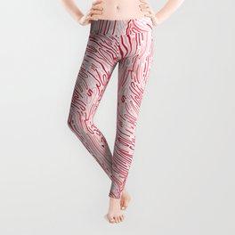 RED WAVE Leggings
