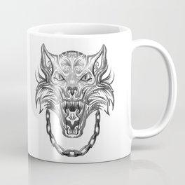 Norse Wolf Monster Fenrir Coffee Mug