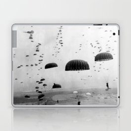 Airborne Mission During WW2 Laptop & iPad Skin