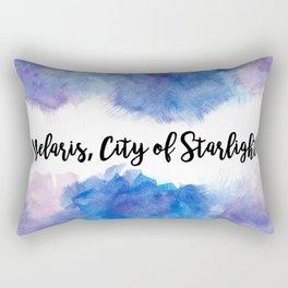 Velaris, City of Starlight Rectangular Pillow