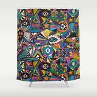 circus Shower Curtains featuring Circus by Naia Ceschin