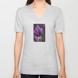 Purple rain Unisex V-Neck