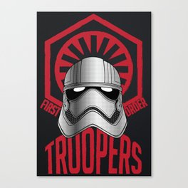 First Order Troopers Canvas Print