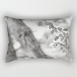 Woods Secrets. Mistery Into The Deep Forest Rectangular Pillow