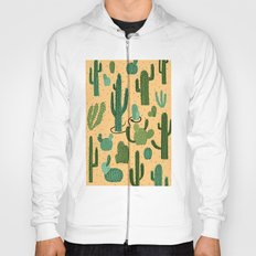 The Snake, The Cactus and The Desert Hoody