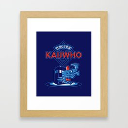 Doctor KaijWho Framed Art Print
