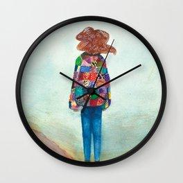 Desert Sands Wall Clock