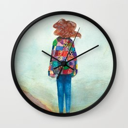 Desert Sands Wall Clock