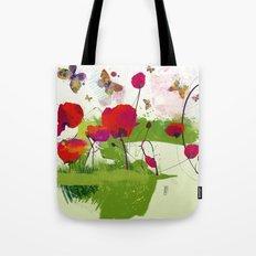 Spring's coming Tote Bag