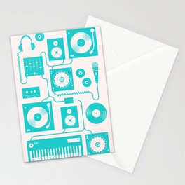 Electronica Stationery Cards
