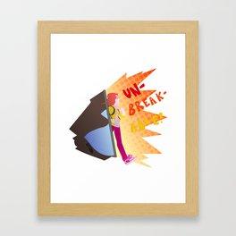 Unbreakable Kimmy Schmidt Framed Art Print