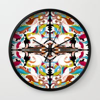 shell Wall Clocks featuring Shell by András Récze