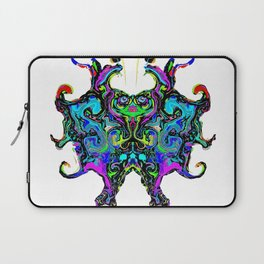 Free Spirit - A Butterfly's Journey (White) Laptop Sleeve