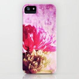 Sunrise Flowers iPhone Case