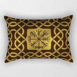 Vegvisir - Viking  Navigation Compass Rectangular Pillow