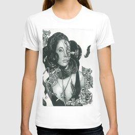Zombie Liz Taylor T-shirt