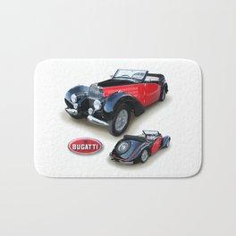 1937 Bugatti Cabriolet Bath Mat