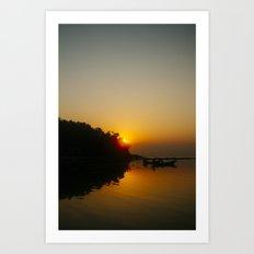 Sunset, Koh Phangan 03 Art Print