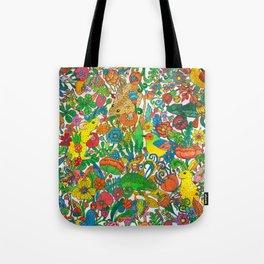 Tiny world Tote Bag