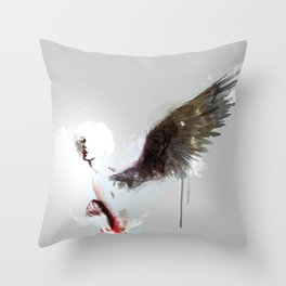 Pi C Throw Pillow