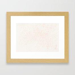 Sakura, dancing Framed Art Print