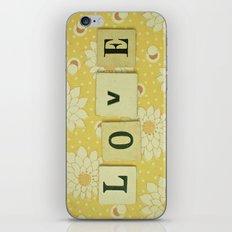 Love No.4 iPhone & iPod Skin